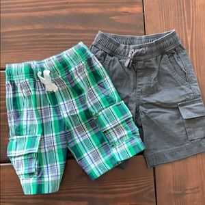 Two pairs of Hanna Andersson shorts